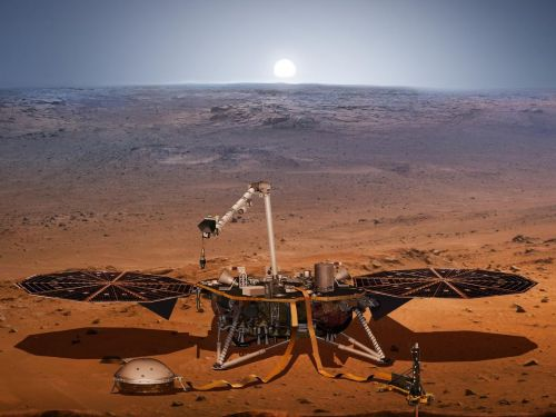 NASA can hear the 'haunting' sound of dust devils tearing across Mars with its new $830 million lander