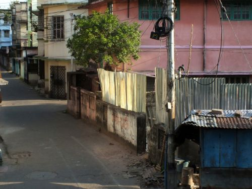 I'm one of the 1.3 billion people on lockdown in India, where food is running scarce, police patrol the streets, and chalk is used to mark social distancing lines. Here's what it's like in my neighborhood