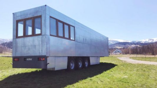 You Can Now Sleep In A Retired Semi Truck Trailer Tiny House