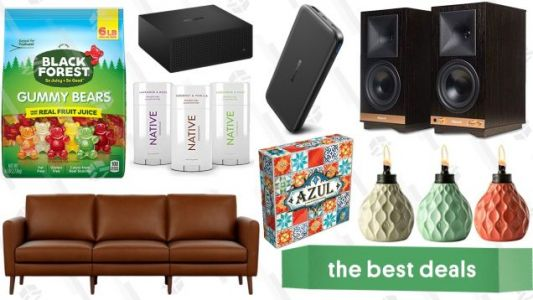 Saturday's Best Deals: Labor Day Sales, Six Pounds of Gummy Bears, Patio Torches, And More