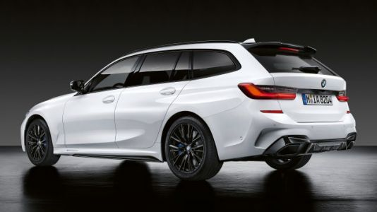 Here's What the 2020 BMW 3 Series Wagon Looks Like With Every M Accessory