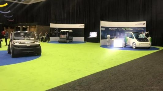 Meet the Joyless Self-Driving Pods of the Detroit Auto Show