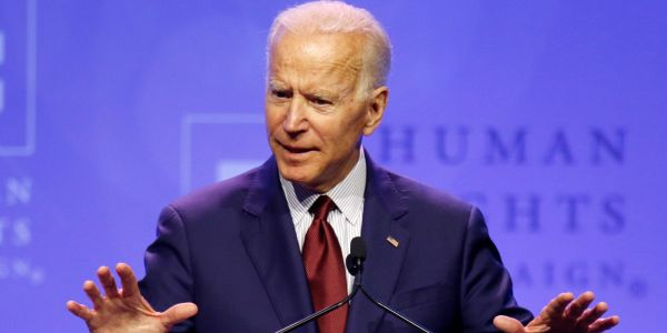 Joe Biden's dominating the early polls, but his biggest strength will be put to the test at the first Democratic debates this month