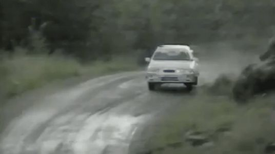 Watch This and Understand Why a Creaky Old Ford Hatchback Is a Rally Legend