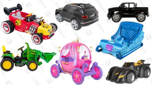 Prove You're the Best at Christmas Gifting With an Awesome Ride-On Toy
