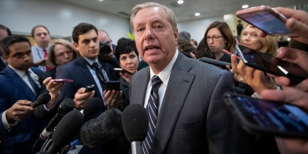 'When they do provocative things, they're going to be met with provocation': Lindsey Graham blames progressive Democrats in his stalwart defense of Trump and his rhetoric
