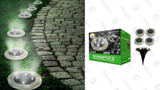 Brighten Up Your Yard With These Solar-Powered LED Lights