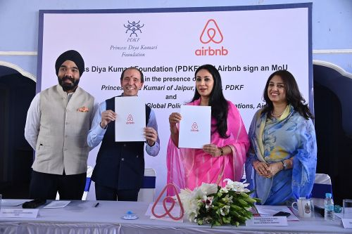 Airbnb Partners with the Princess Diya Kumari Foundation