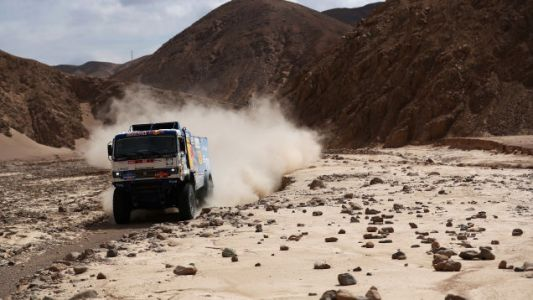 Dakar Rally Truck Driver Disqualified for Not Stopping After He Hit a Spectator
