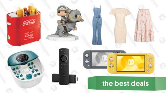Friday's Best Deals: Switch Lite, Fire TV, Vibrating Foot Spa, Rachel Parcell Nordstrom Collection, Huckberry Shorts, Funko Pops, and More