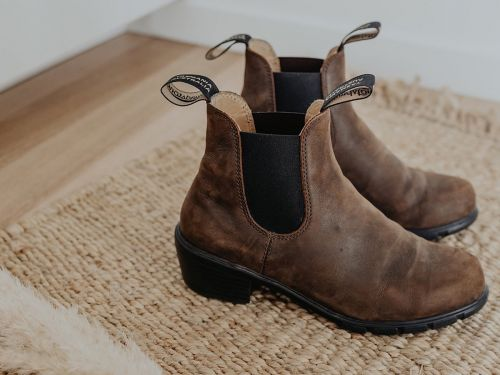 A cult-favorite Australian boot company just refreshed its classic Chelsea boots with a heel for women - and they're super comfortable