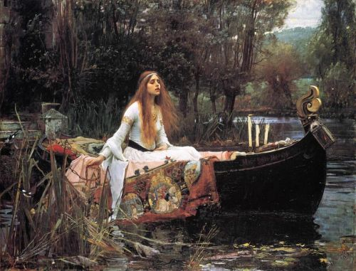 Pre-Raphaelites and The Lady of Shalott