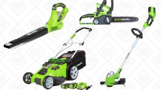 Go Electric For Your Fall Work With This GreenWorks Gold Box