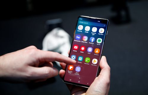 How to hide photos on a Samsung Galaxy S10 by creating a Secure Folder