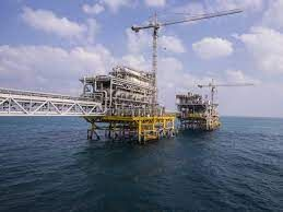 Saudi project to be built on an oil rig platform in the Arabian Gulf
